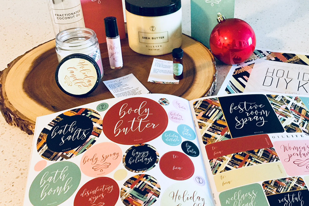 Essential Oils Holiday DIY: Loobook & DIY kit