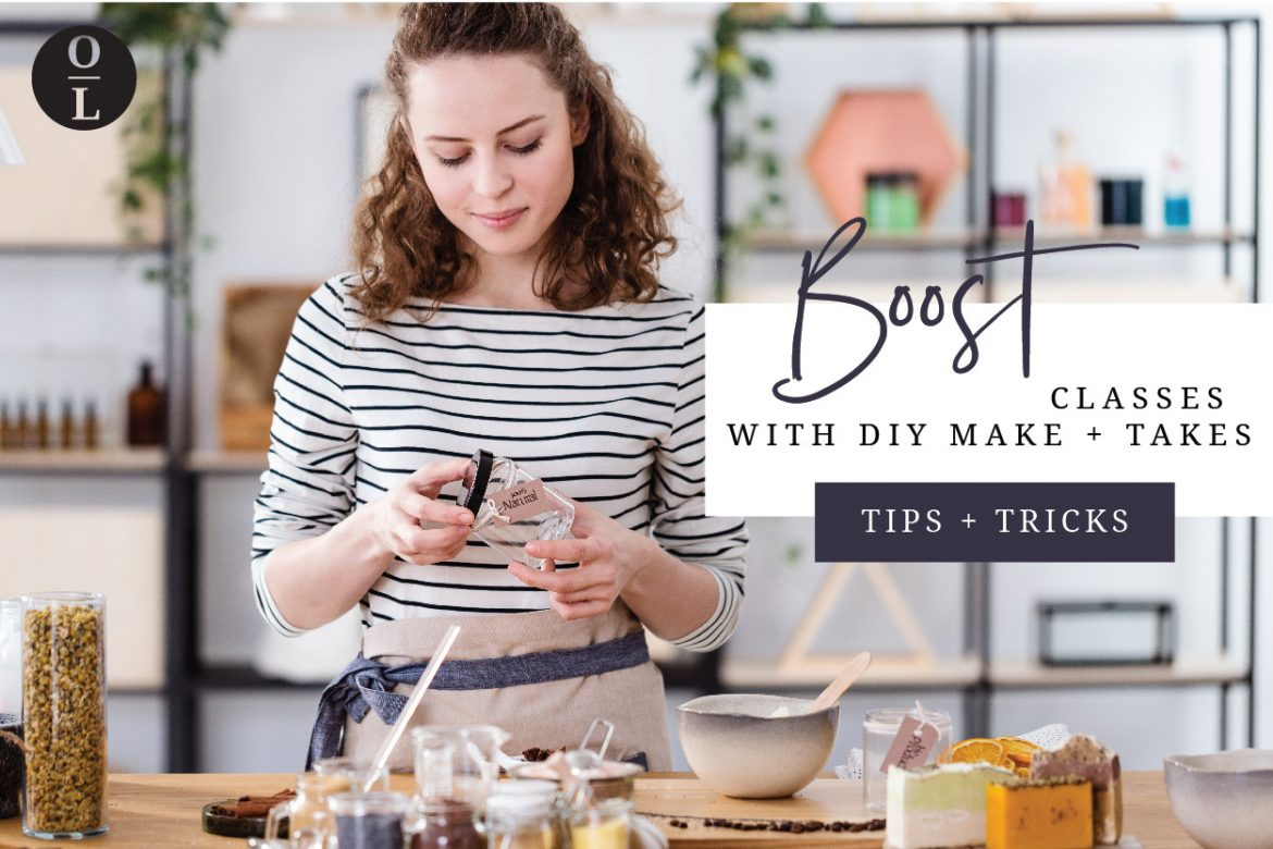 Boost Classes with DIY – Make and Take!