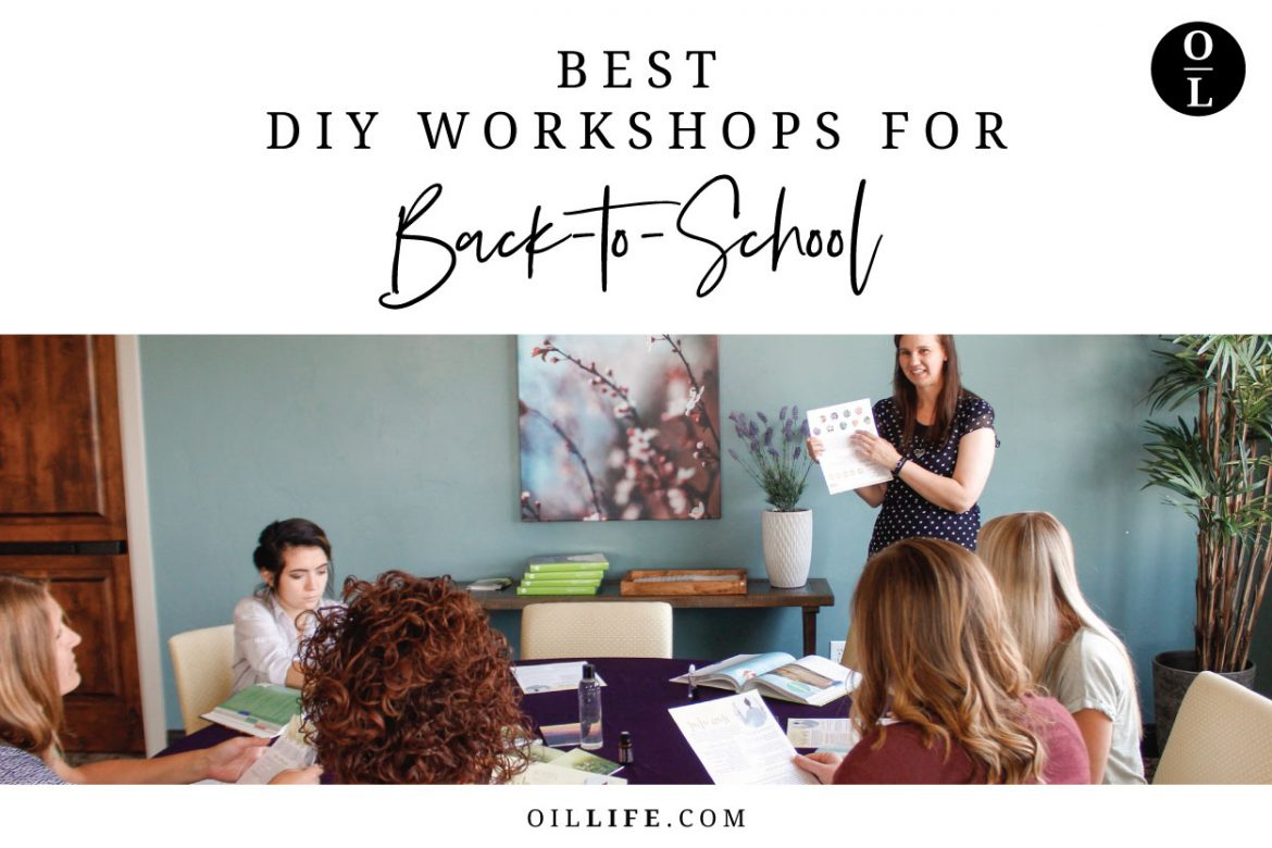 Best DIY Workshops for Back-to-School