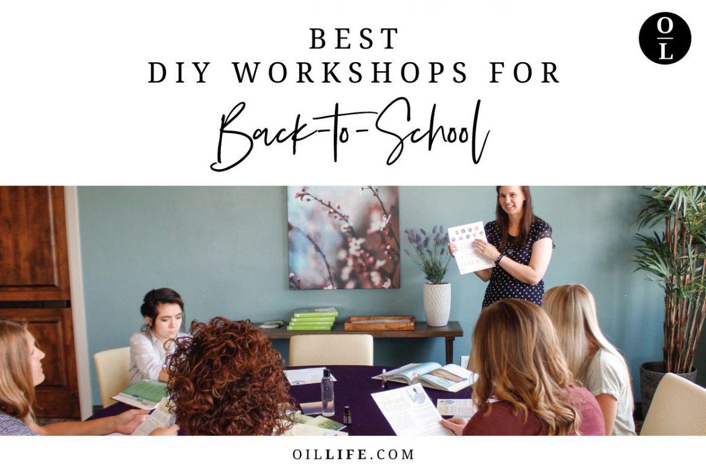 Best DIY Workshops for Back-to-School