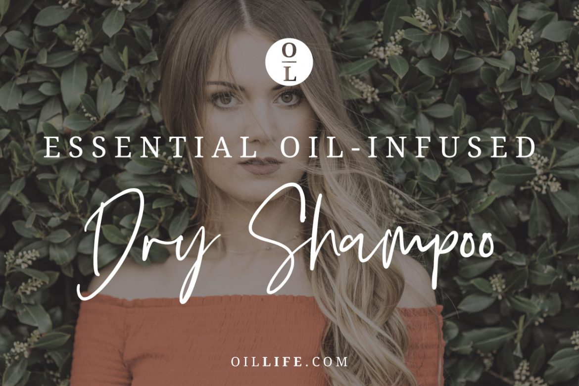 Essential Oil-Infused Dry Shampoo