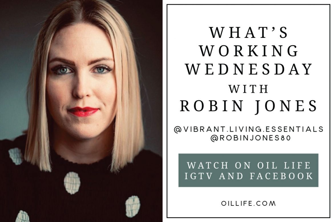 What's Working Wednesday with Robin Jones